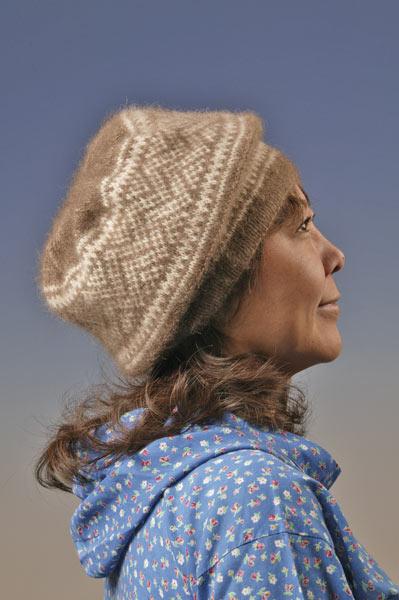 Qiviut Knitting Patterns : Oomingmak - Tundra & Snow Collection - Alaskan Qiviut Handknits
